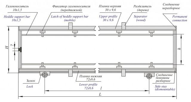 Ремизная рама (тип VII)